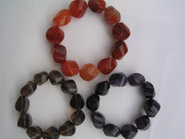 Avenue plain cut stone bracelets
