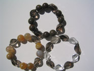 Avenue plain cut stone, two sizes, bracelets